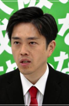 吉村知事 クマ 痩せた やつれた 画像 比較